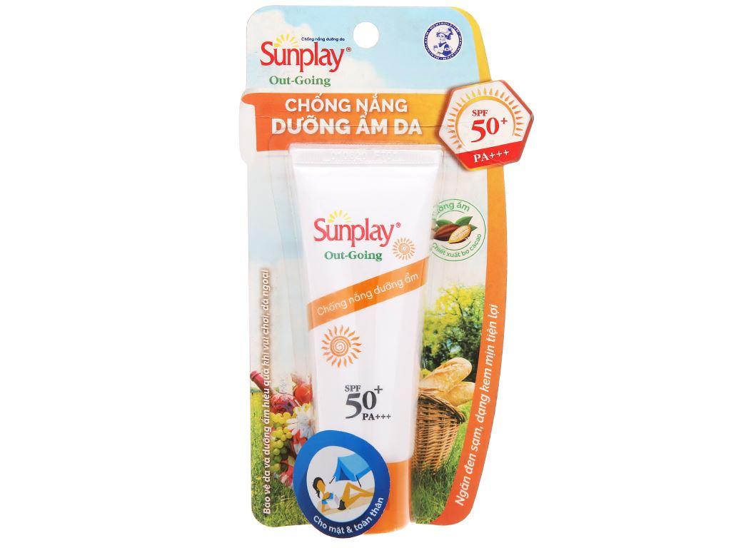 Kem chống nắng dưỡng ẩm Sunplay Out-Going SPF 50+/PA+++ 30g 1