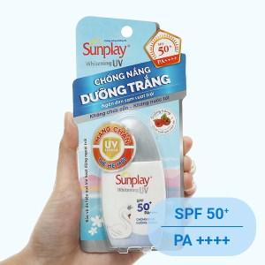 Sữa chống nắng dưỡng trắng da Sunplay Whitening UV SPF 50+/PA++++ 30g