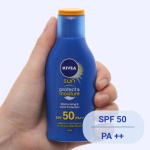 Sữa chống nắng và dưỡng ẩm da toàn thân Nivea SPF 50/PA++ 50ml