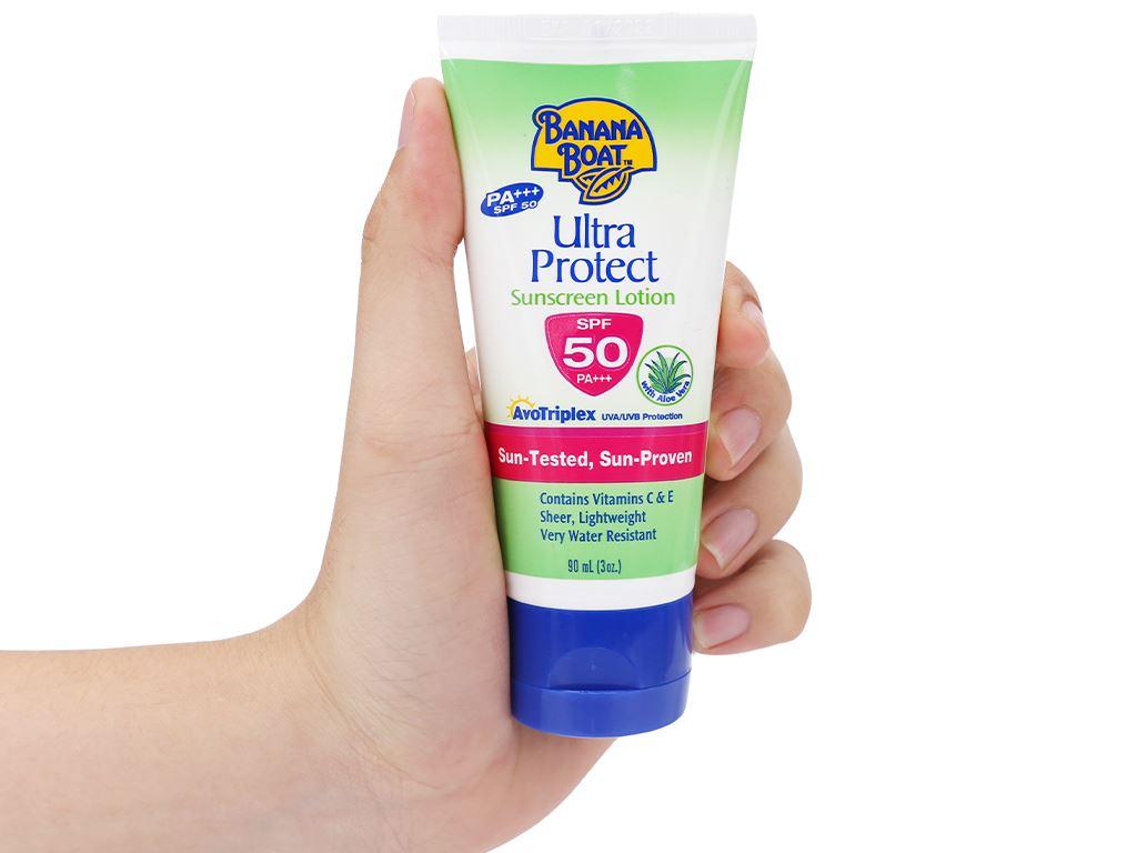 Sữa chống nắng Banana Boat Ultra Protect SPF 50/PA+++ 90ml 4