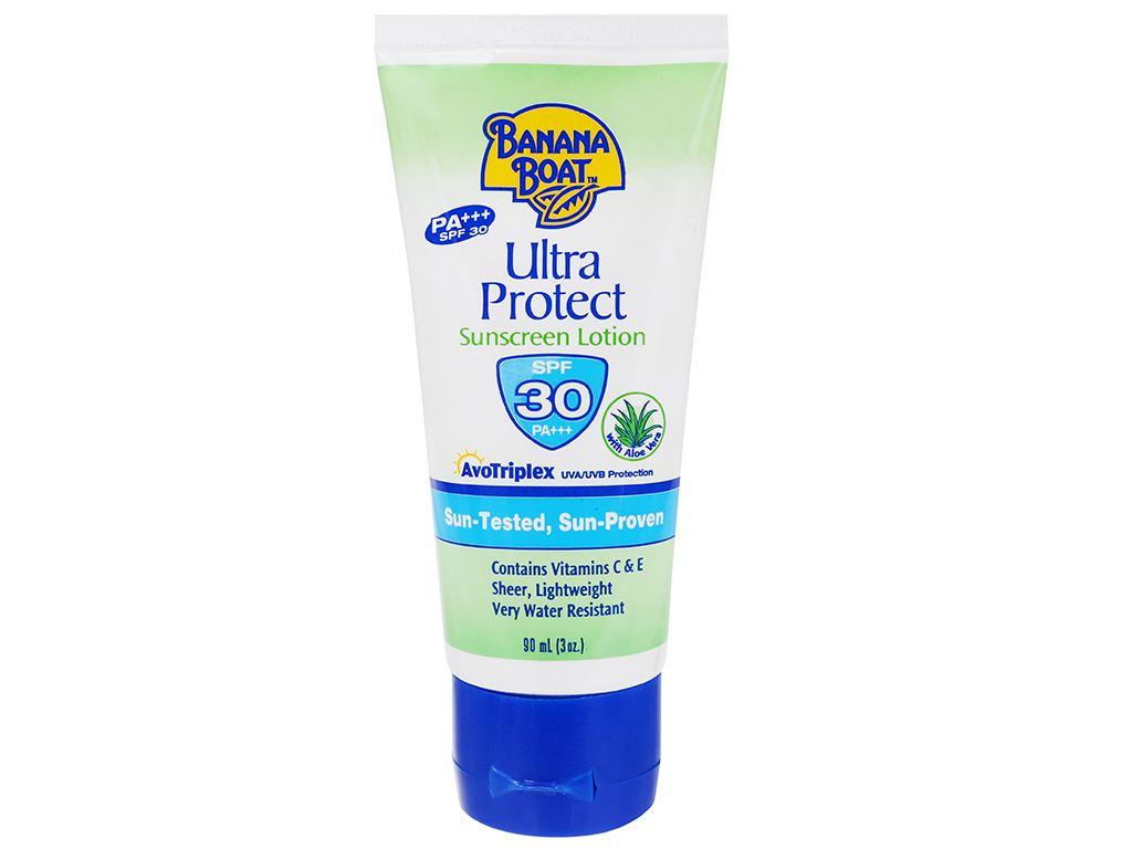 Sữa chống nắng Banana Boat Ultra Protect SPF 30/PA+++ 90ml 1
