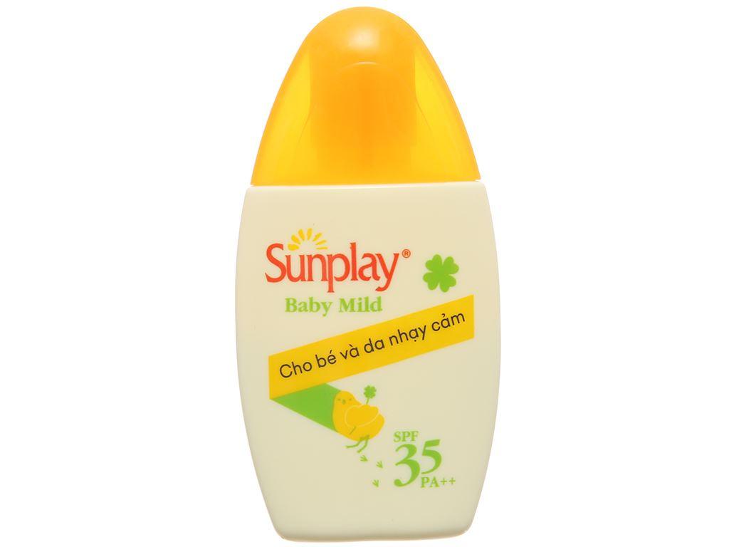 Sữa chống nắng cho bé và da nhạy cảm Sunplay SPF 35/PA++ 30g 1