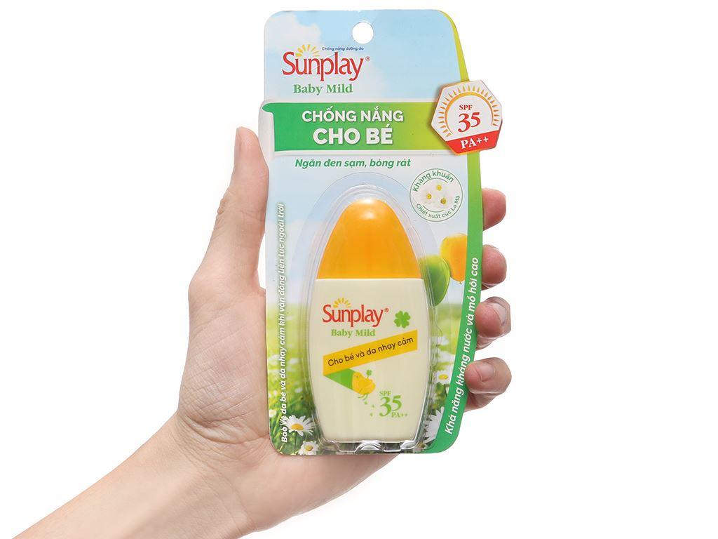 Sữa chống nắng cho bé và da nhạy cảm Sunplay SPF 35/PA++ 30g 3