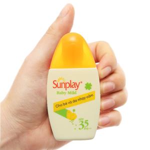 Sữa chống nắng cho bé và da nhạy cảm Sunplay SPF 35/PA++ 30g