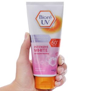 Serum chống nắng dưỡng thể kháng bụi Bioré UV SPF 50/PA+++ 150ml