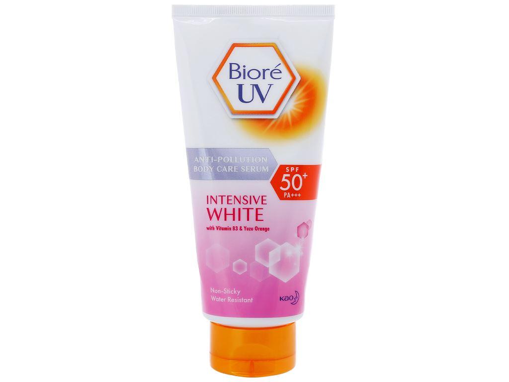 Serum chống nắng Bioré UV dưỡng thể kháng bụi SPF 50/PA+++ 150ml 1