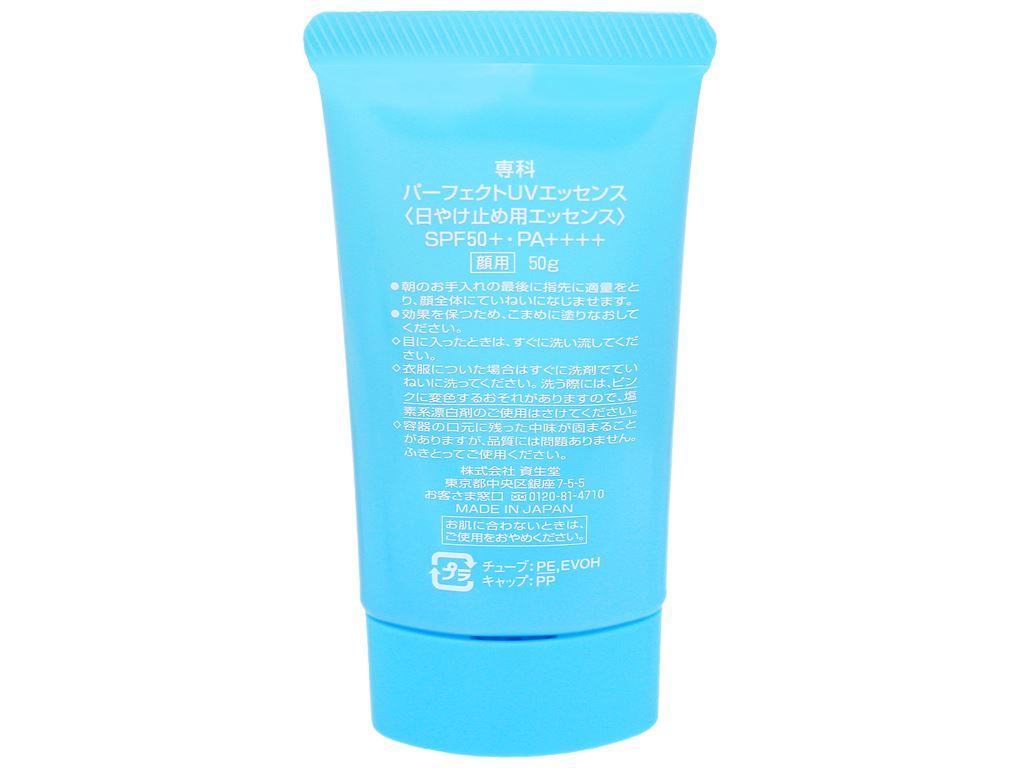 Chống nắng Senka Perfect UV Essence SPF 50+/PA++++ 50g 4