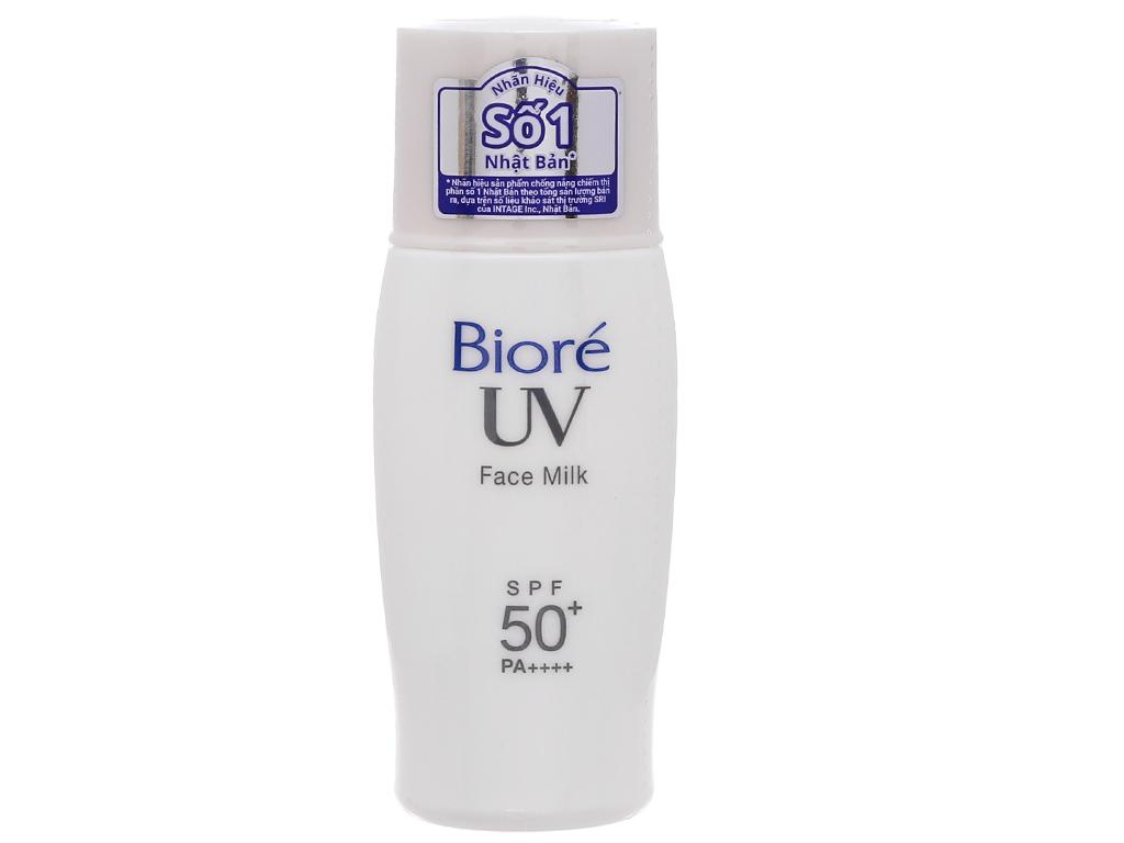 Sữa chống nắng Bioré kiềm dầu SPF 50+/PA++++ 30ml 3