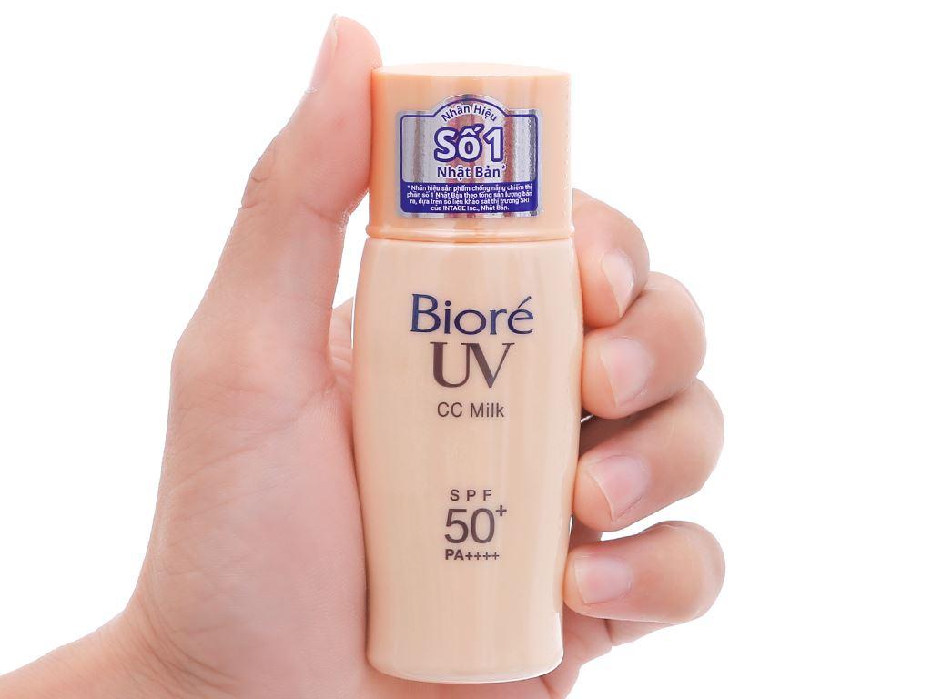 Sữa chống nắng Bioré che khuyết điểm SPF 50+/PA++++ 30ml 7