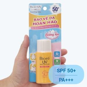 Sữa chống nắng Bioré dưỡng ẩm SPF 50+/PA+++ 25ml