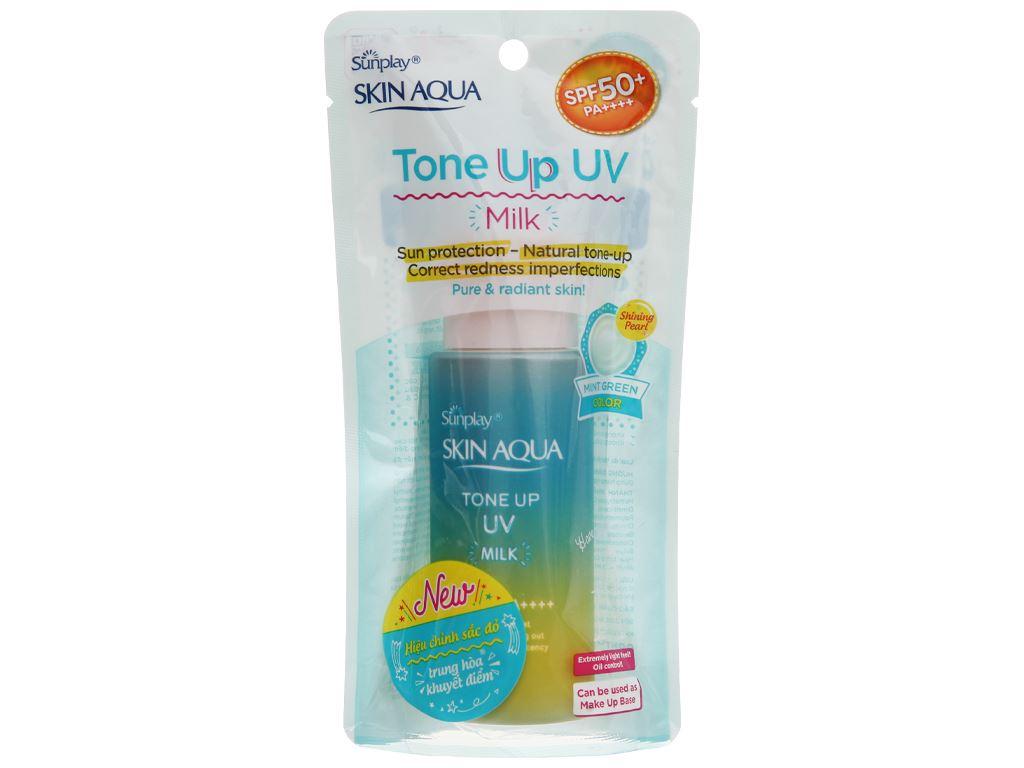 Sữa chống nắng hiệu chỉnh sắc da Sunplay Tone Up UV SPF 50+/PA++++ 50g 1