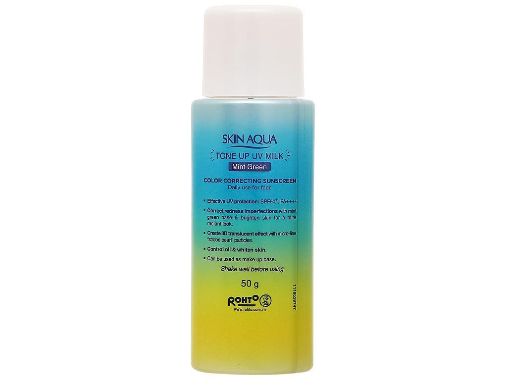 Sữa chống nắng hiệu chỉnh sắc da Sunplay Tone Up UV SPF 50+/PA++++ 50g 5