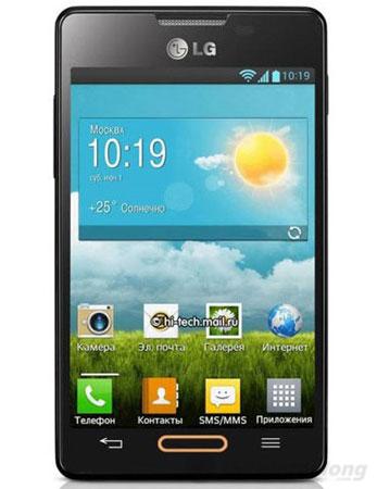LG Optimus L4 II E440 với thiết kế thanh mảnh, chắc chắn