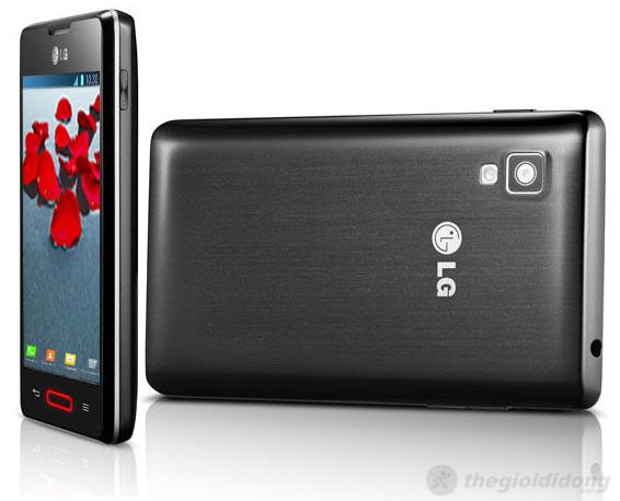 LG Optimus L4 II E440 được trang bị vi xử lý 1GHz