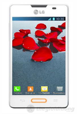 LG Optimus L4 II E440 được trang bị màn hình 3.8 inch