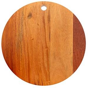 Thớt gỗ tròn 25 cm DMX IG4843 Thớt tròn
