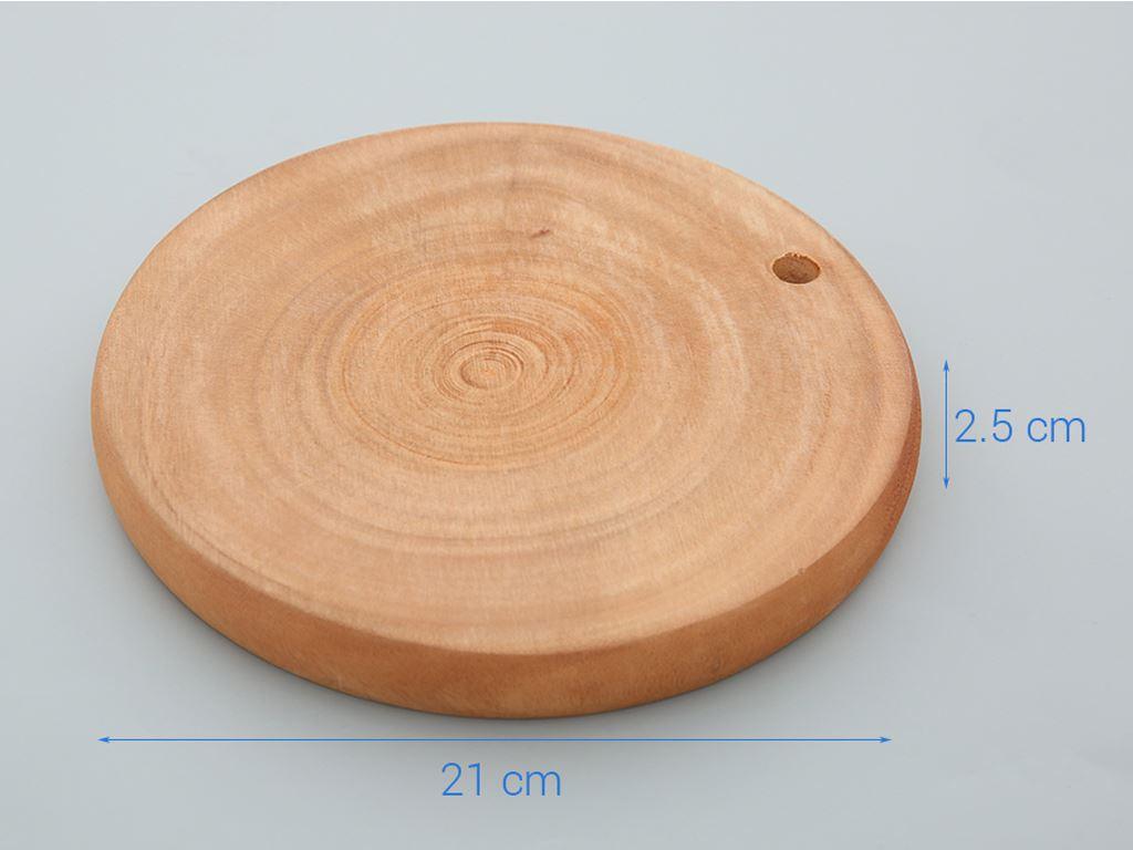 Thớt gỗ tròn 21cm Tâm An 210 3