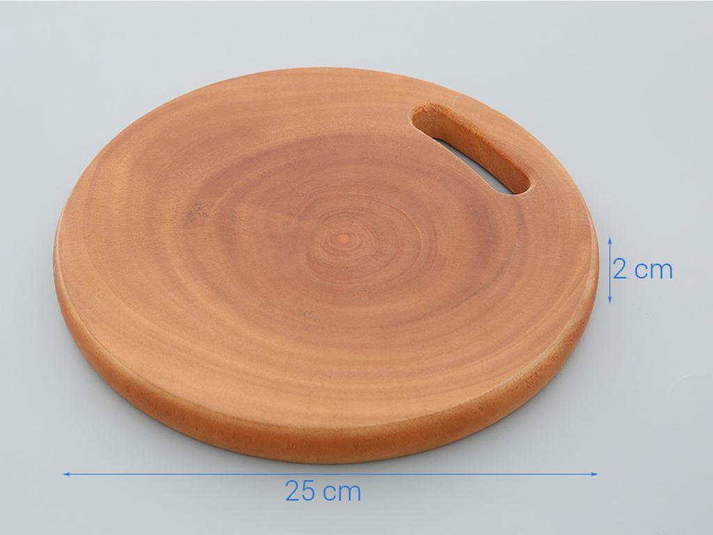 Thớt gỗ tròn 25cm Tâm An 250 3