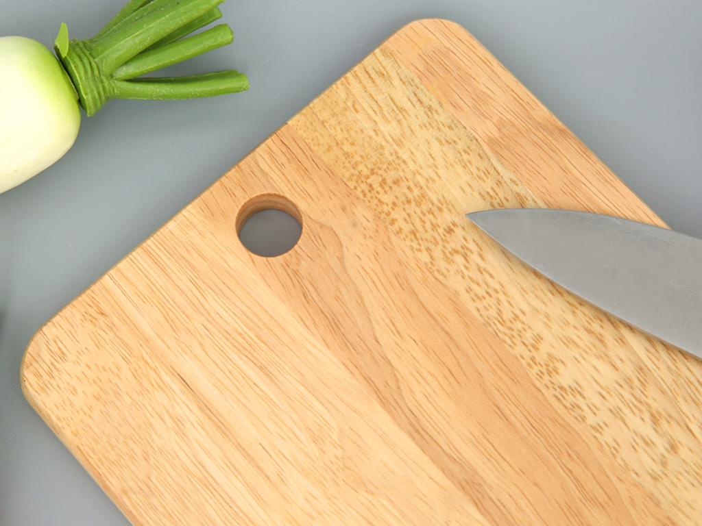 Thớt gỗ chữ nhật 25cm Bách Hoá Xanh NH2518 3