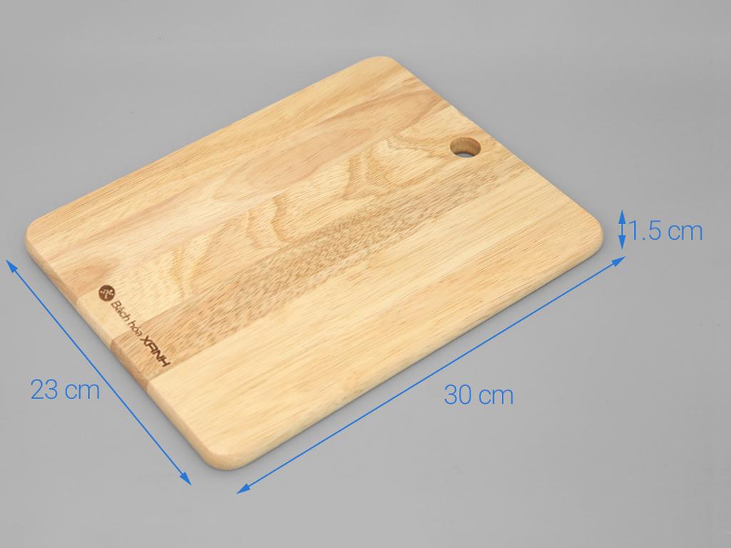 Thớt gỗ chữ nhật Điện Máy Xanh NH3023 30cm 3