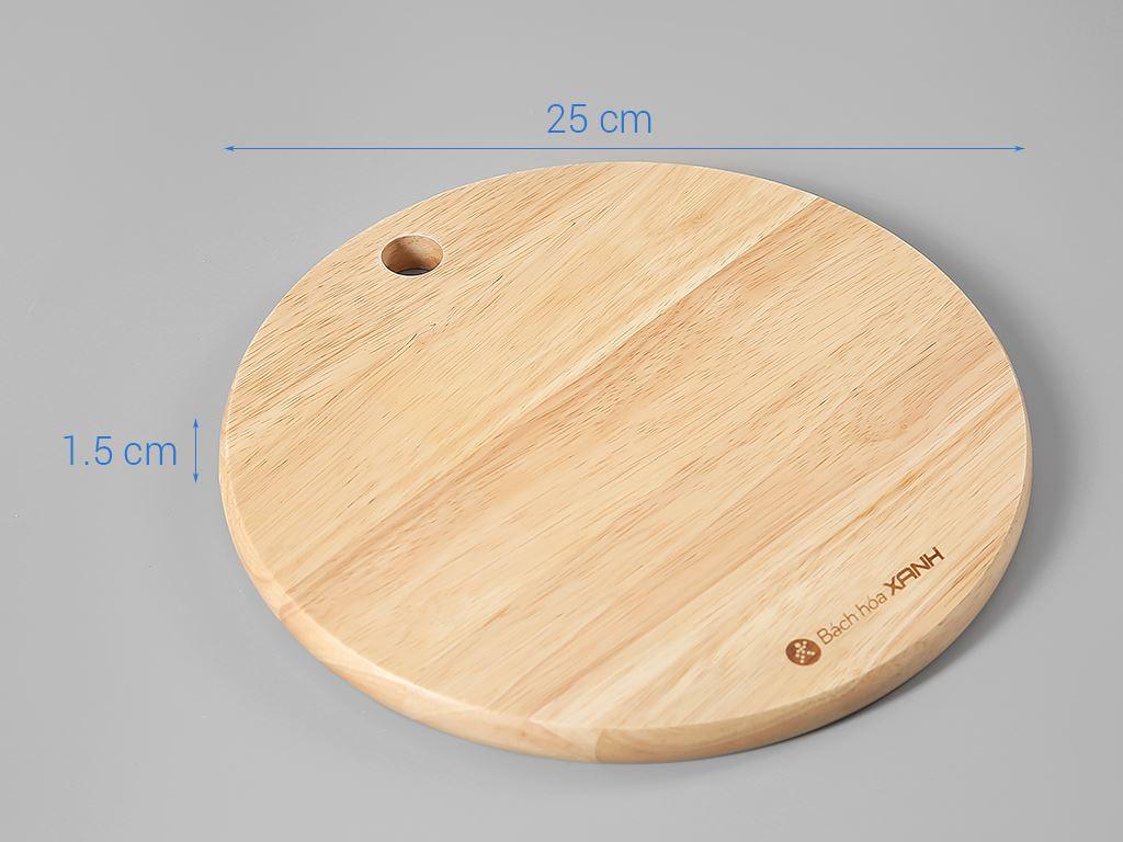 Thớt gỗ tròn 25cm Điện Máy Xanh NH2515 10
