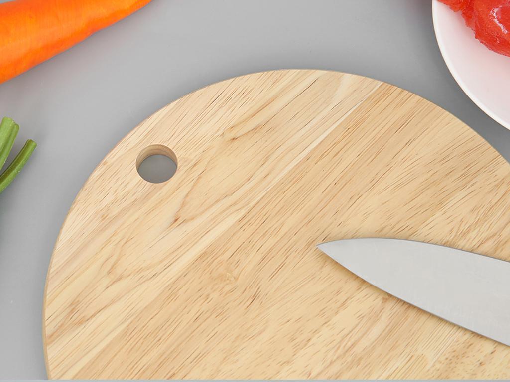 Thớt gỗ tròn 25cm Điện Máy Xanh NH2515 2