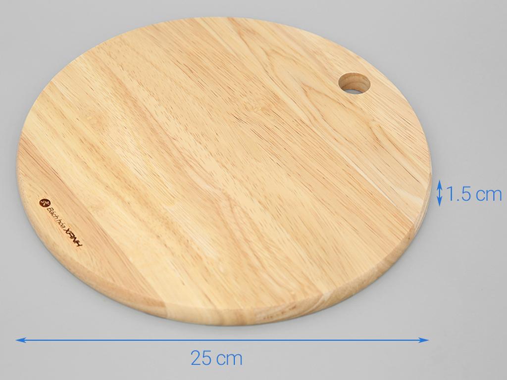 Thớt gỗ tròn 25cm Điện Máy Xanh NH2515 3