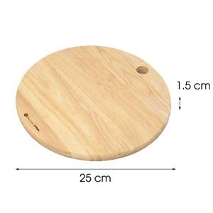 Thớt gỗ tròn 25 cm DMX NH2515 Thớt tròn