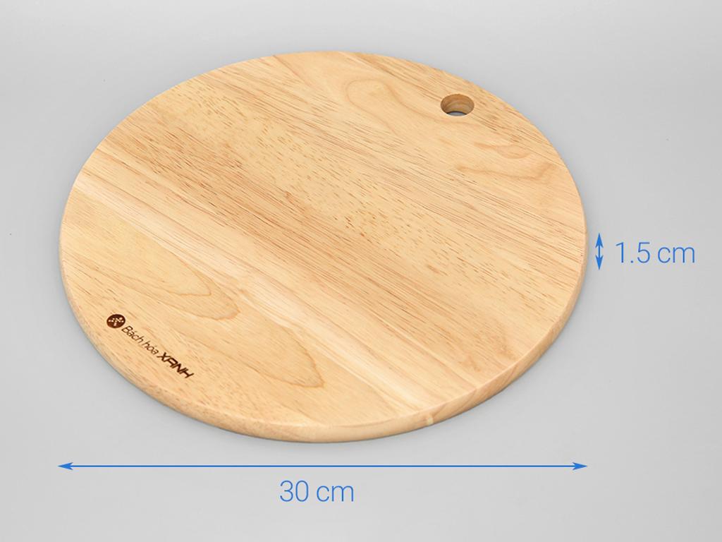 Thớt gỗ tròn 30cm Điện Máy Xanh NH3015 3