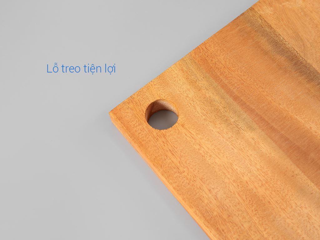 Thớt gỗ xà cừ 29cm Thanh Điền 4