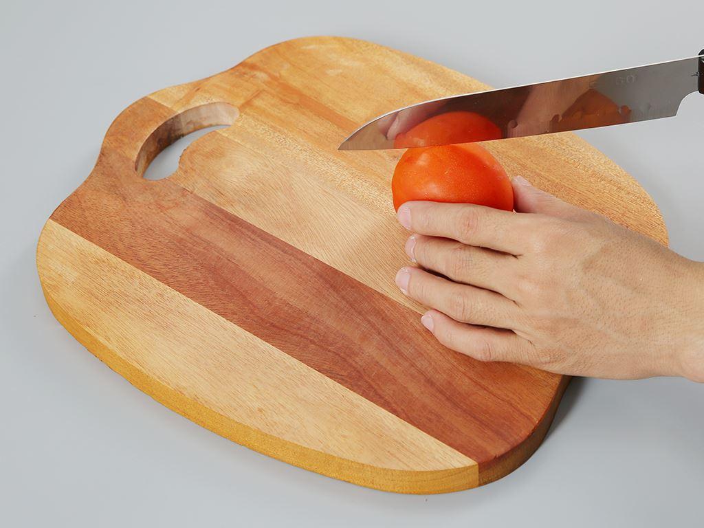 Thớt gỗ xà cừ 32cm Thanh Điền A32 3