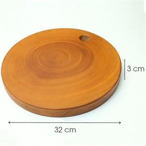 Thớt gỗ chặt tròn 32cm BHX TD-TC32 Thớt tròn