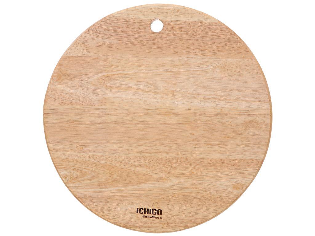 Thớt gỗ tròn 29cm Ichigo IG-7424 1
