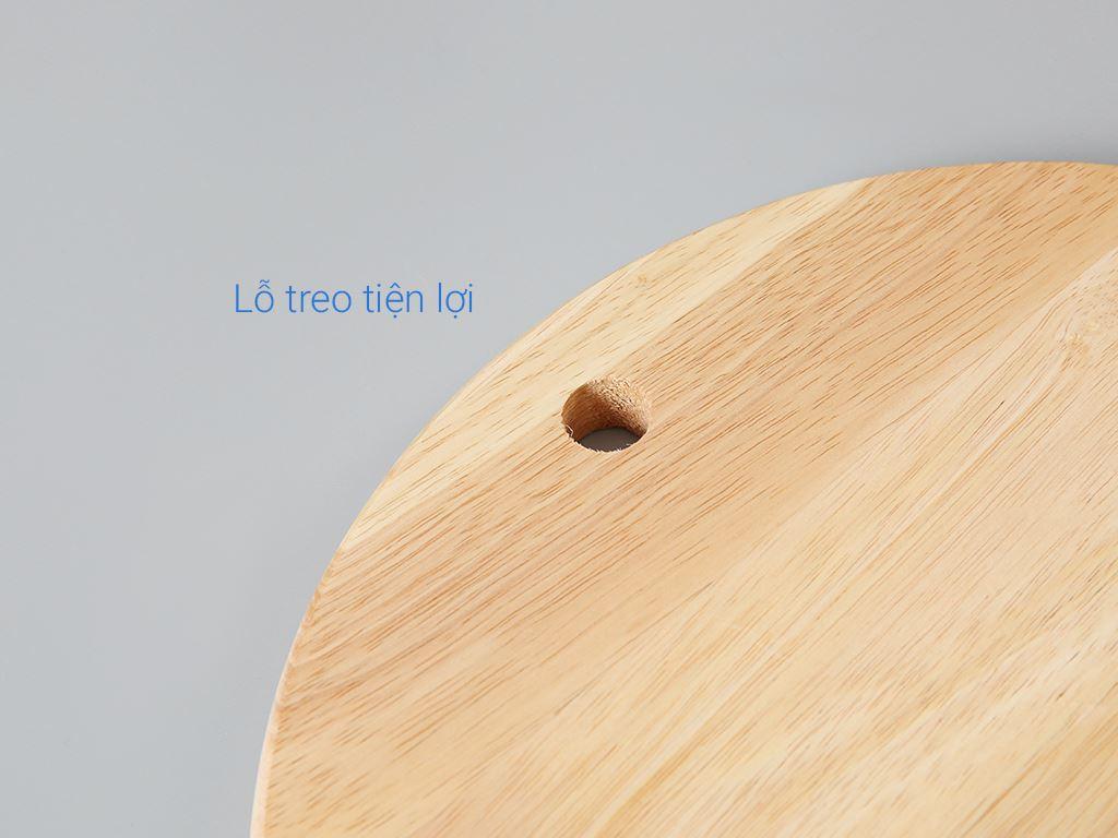 Thớt gỗ tròn 29cm Ichigo IG-7424 4