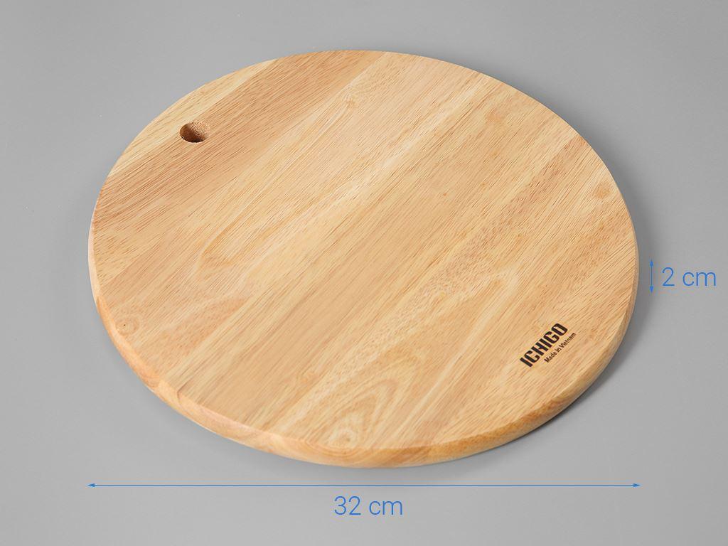 Thớt gỗ tròn 29cm Ichigo IG-7424 5
