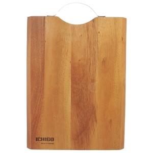 Thớt gỗ xà cừ chữ nhật Ichigo IG-4898