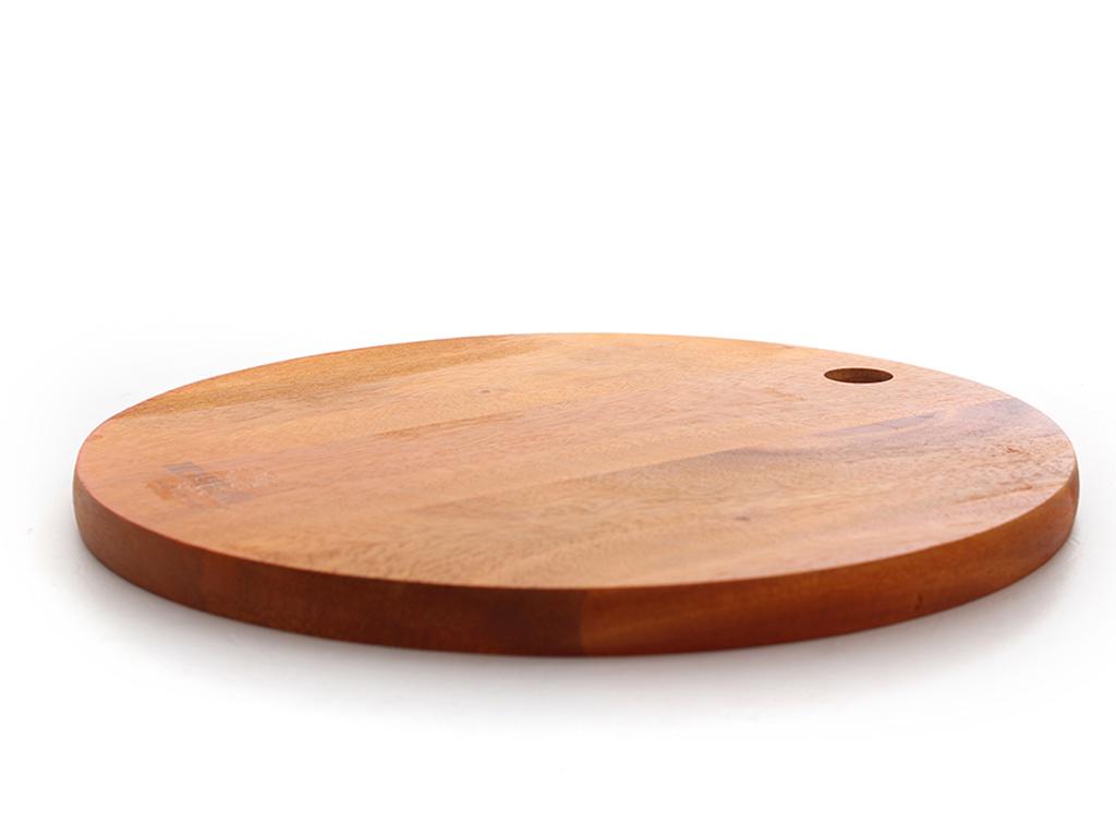 Thớt gỗ xà cừ 25cm Ichigo IG-4843 2