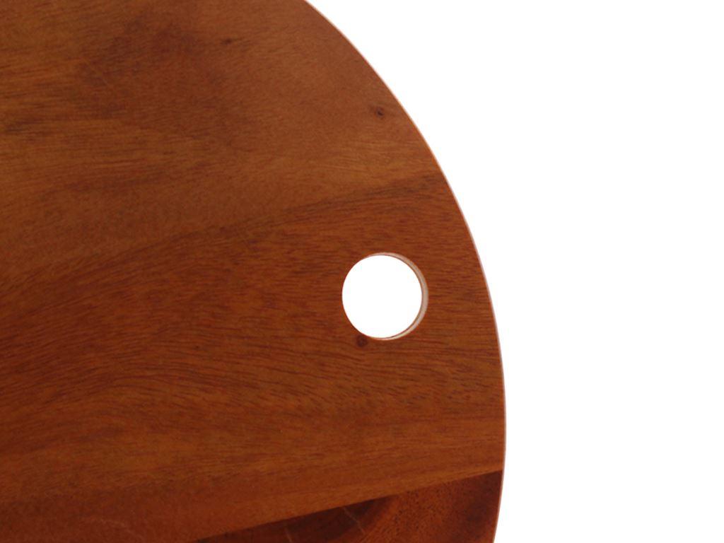 Thớt gỗ xà cừ 25cm Ichigo IG-4843 3