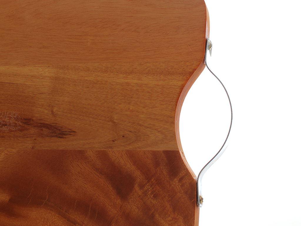 Thớt gỗ xà cừ chữ nhật 28x21cm Ichigo IG-4942 4