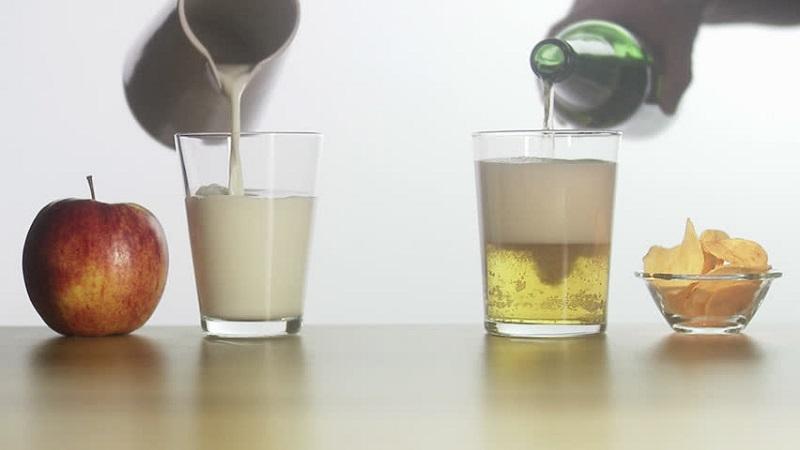Nâng tông da nhanh chóng với công thức tắm trắng từ bia và sữa tươi