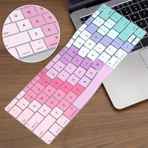Miếng lót bàn phím Mac 12 inch Meeker Hồng Tím Xanh