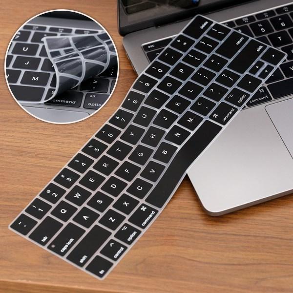 Miếng lót bàn phím Mac Pro 2016 13 inch Meeker Đen