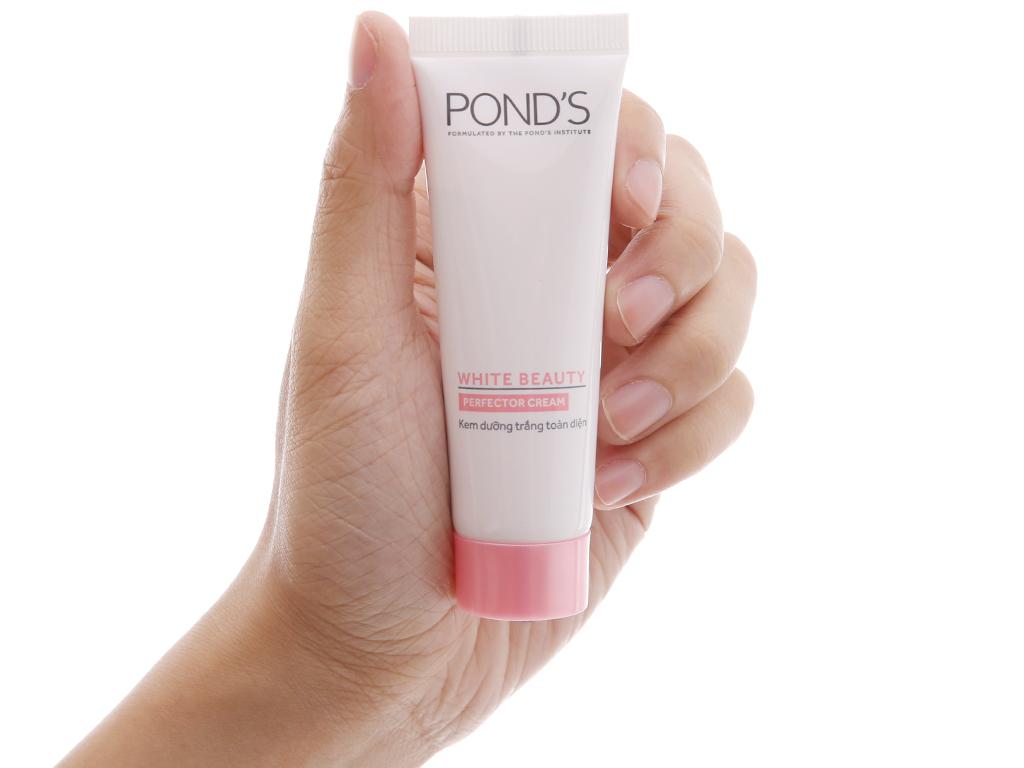 Kem dưỡng trắng toàn diện trắng hồng rạng rỡ Pond's White Beauty 25g 5