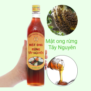 Mật ong rừng Tây Nguyên Xuân Nguyên chai 500ml