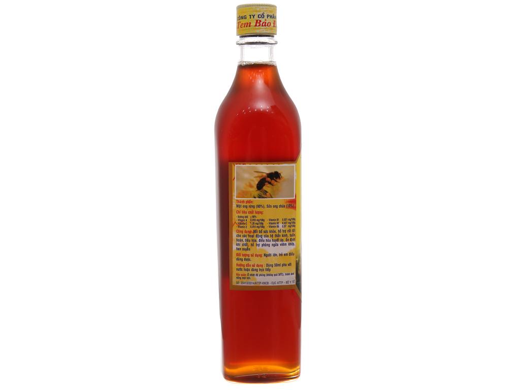 Mật ong rừng sữa ong chúa U Minh Xuân Nguyên chai 500ml 3
