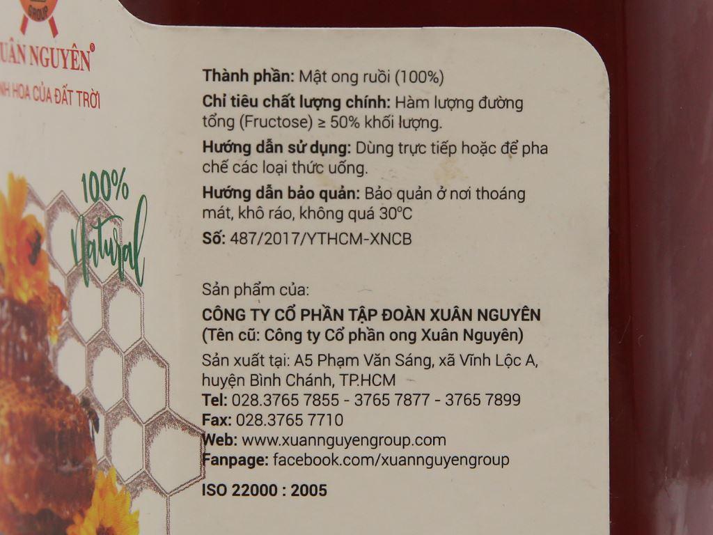 Mật ong ruồi Xuân Nguyên hũ 360ml 4