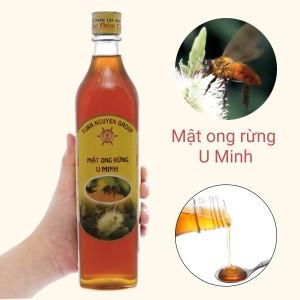 Mật ong rừng U Minh Xuân Nguyên chai 500ml