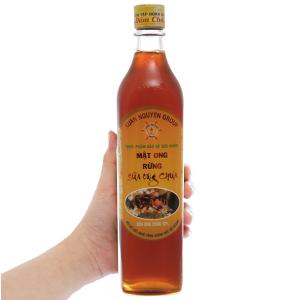 Mật ong rừng sữa ong chúa Xuân Nguyên chai 500ml