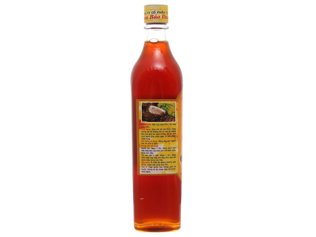 Mật ong rừng sữa ong chúa Xuân Nguyên chai 500ml 3