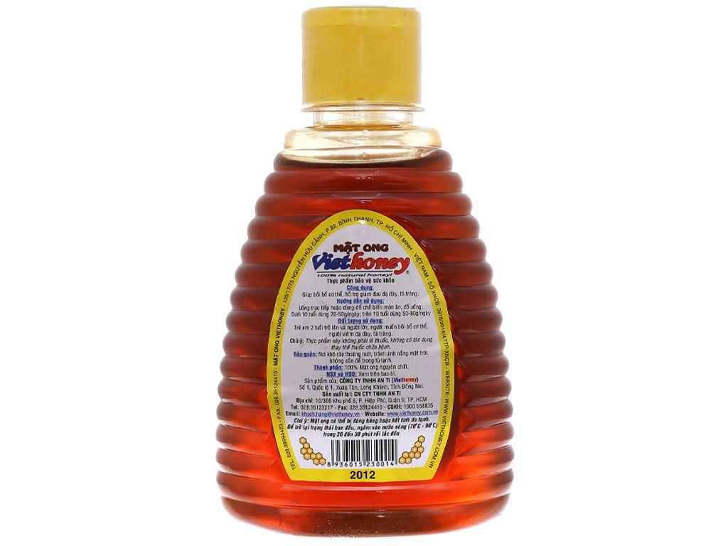 Mật ong Viethoney chai 300g 2